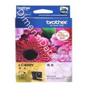 Picture of Tinta / Cartridge BROTHER Yellow Ink  [LC-400 Y]